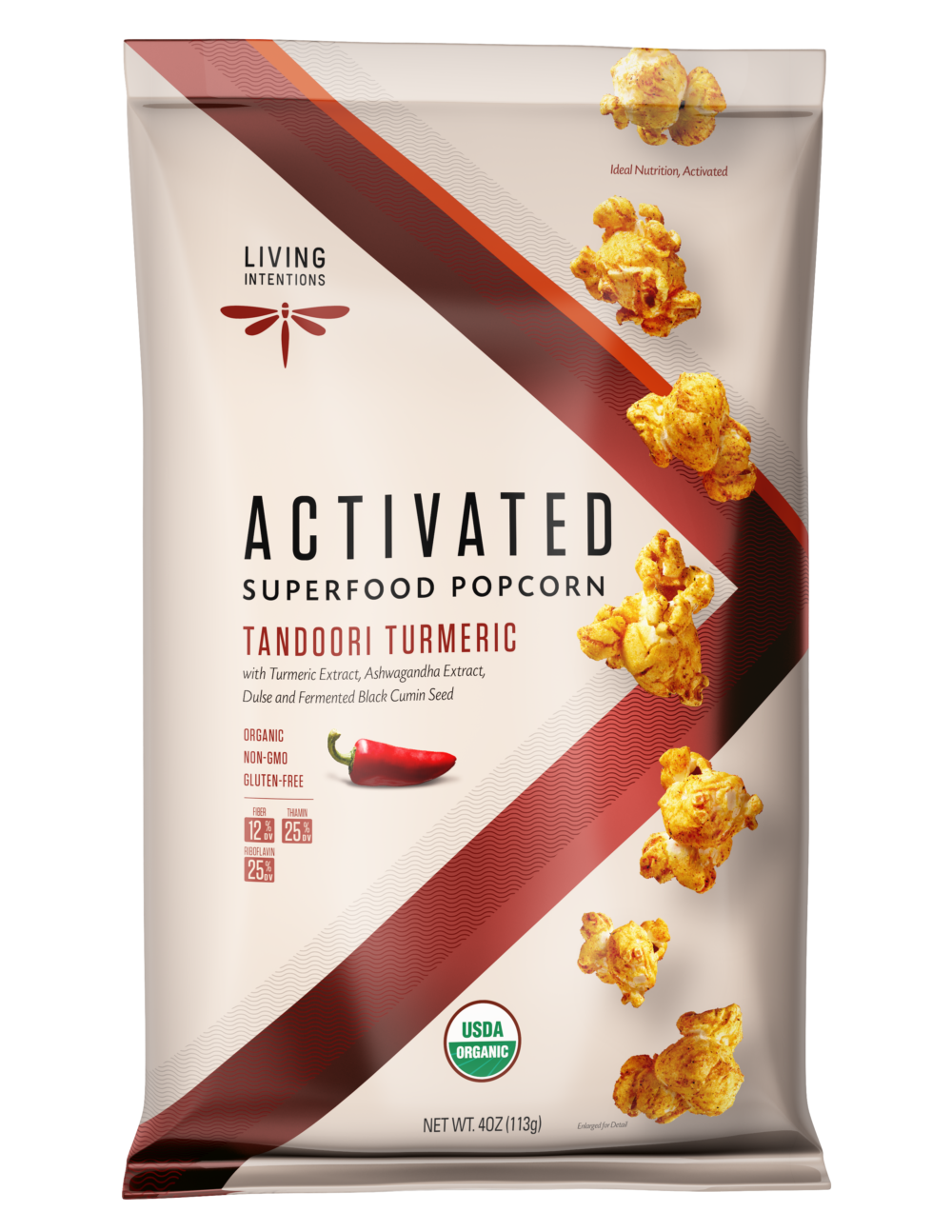 Living Intentions Superfood Popcorn